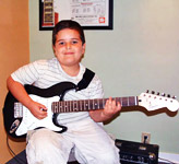 Electric guitar lessons for children